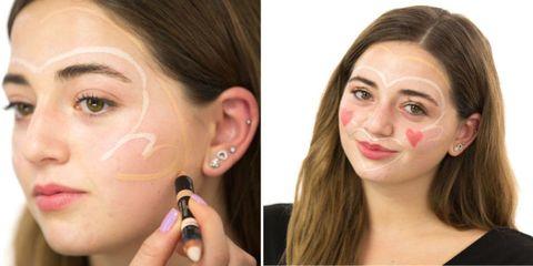 Ear, Lip, Cheek, Brown, Earrings, Hairstyle, Skin, Eyelash, Chin, Forehead,