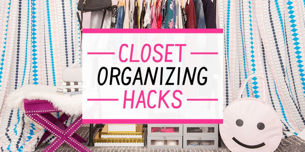 15 Life-Changing Closet Organizing Hacks for Girls Who Have Too Many Clothes