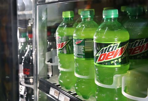 Mountain Dew bottles