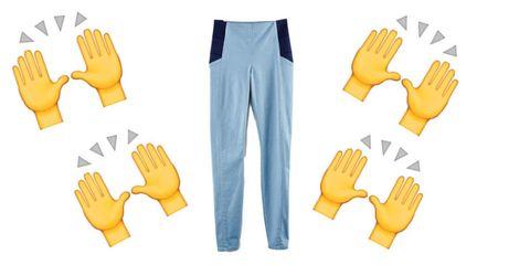 Finger, Yellow, Wrist, Thumb, Glove, Safety glove, Gesture, Pocket, Collaboration, Sports gear,