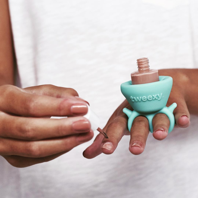 This Genius New Nail Polish Holder Makes Painting Your Nails SO Much ...