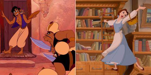 Aladdin/Beauty and the Beast