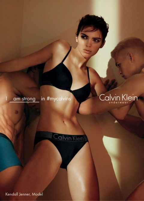 69a4c3f38476a Kendall Jenner Shares Empowering Feminist Message in Her New Calvin ...