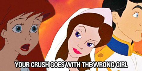 Disney Princess Prom Struggles