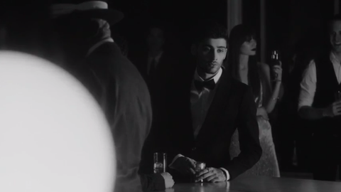 Photograph, White, Monochrome, Monochrome photography, Style, Formal wear, Darkness, Black-and-white, Suit, Blazer,