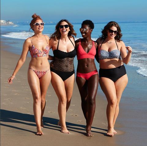 Eyewear, Leg, Fun, People, Brassiere, Skin, Human body, Bikini, Swimsuit top, Swimwear,