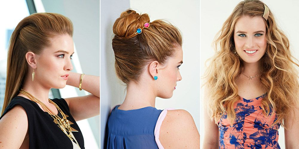 Spring Hairstyles For Girls Spring Hair - Girl hairstyle names