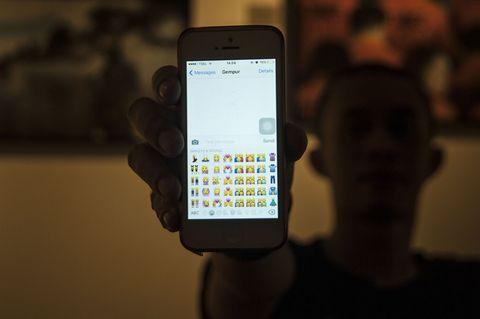 Emojis on iPhone