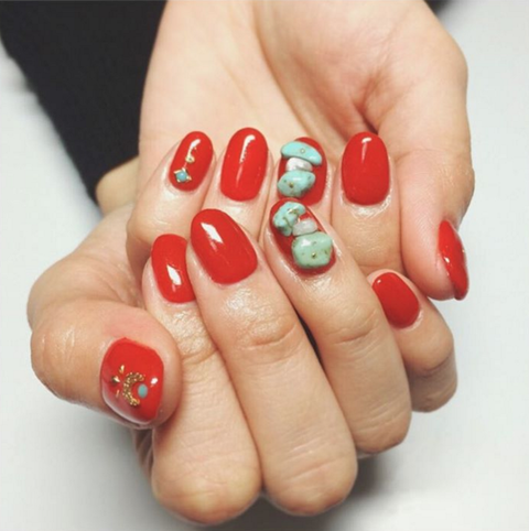 Finger, Skin, Nail care, Toe, Red, Nail, Nail polish, Manicure, Carmine, Foot,