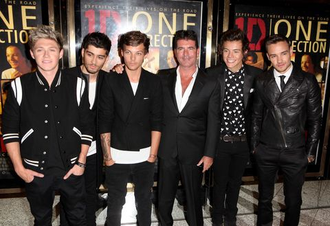 One Direction Simon Cowell