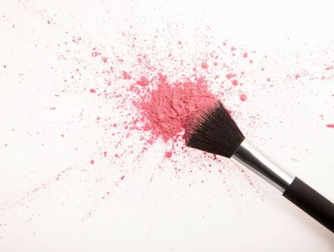 Brush, Red, Stationery, Pink, Carmine, Magenta, Office supplies, Cosmetics, Paint brush, Paint,