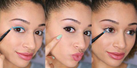 Lip, Cheek, Brown, Skin, Eyelash, Chin, Forehead, Eyebrow, Eye shadow, Style,