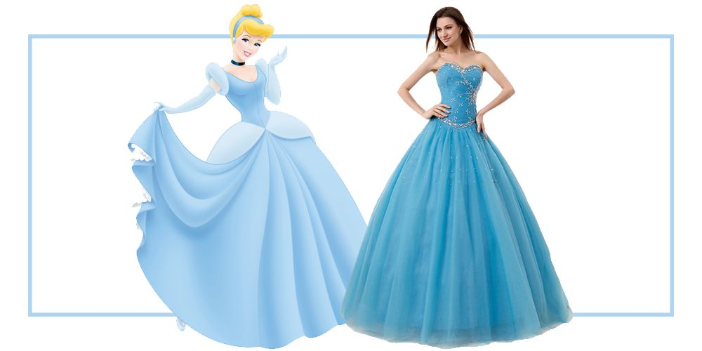 6 Princess Dresses For Prom Disney Princess Prom Dresses
