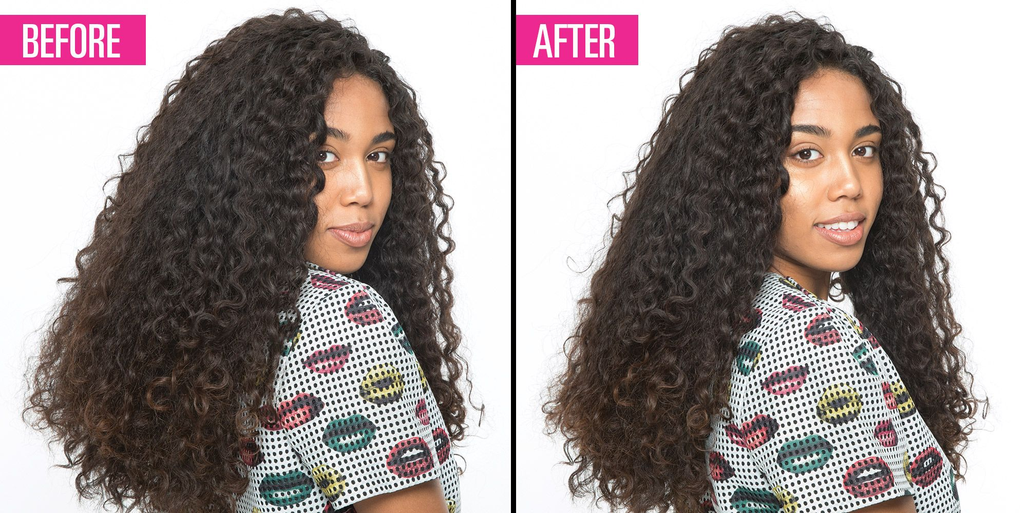the genius way to thin out super thick hair without getting an
