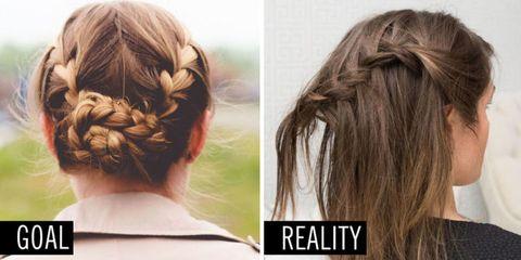 Hair, Hairstyle, Forehead, Style, Hair accessory, Long hair, Brown hair, Hair coloring, Beauty, Neck,