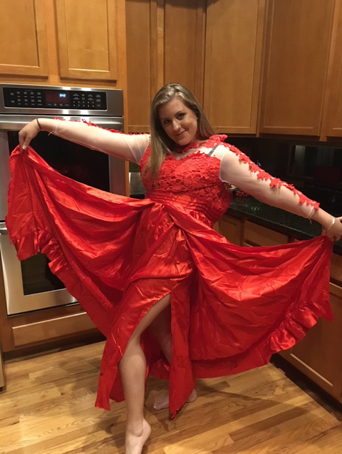 0191494d14d ALERT  The Prom Dress This Teen Bought Online Nearly Ruined Her Prom