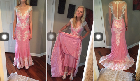 This Girl Ordered A 223 Prom Dress Online Received A Quilt With