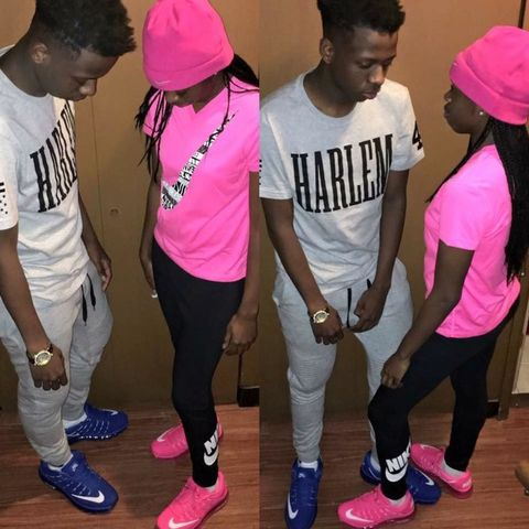 Clothing, Footwear, Trousers, Shoe, Magenta, Pink, Style, T-shirt, Cap, Headgear,