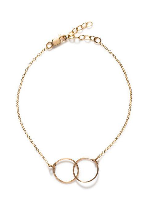 "<p> By Boe Interlocking Circle Bracelet, $55; <a href=""https://byboe.com/byboe/bracelets/square-link-bracelet-4393.html"" target=""_blank"">byboe.com</a> </p>"