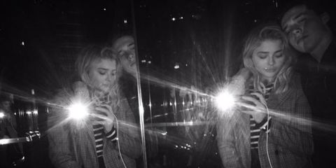Chloe Moretz Brooklyn Beckham