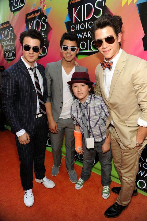 Frankie Jonas & the Jonas Brothers