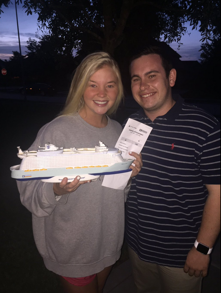 ddd92d075bdd1 This Guy Promposed With Tickets for a European Cruise