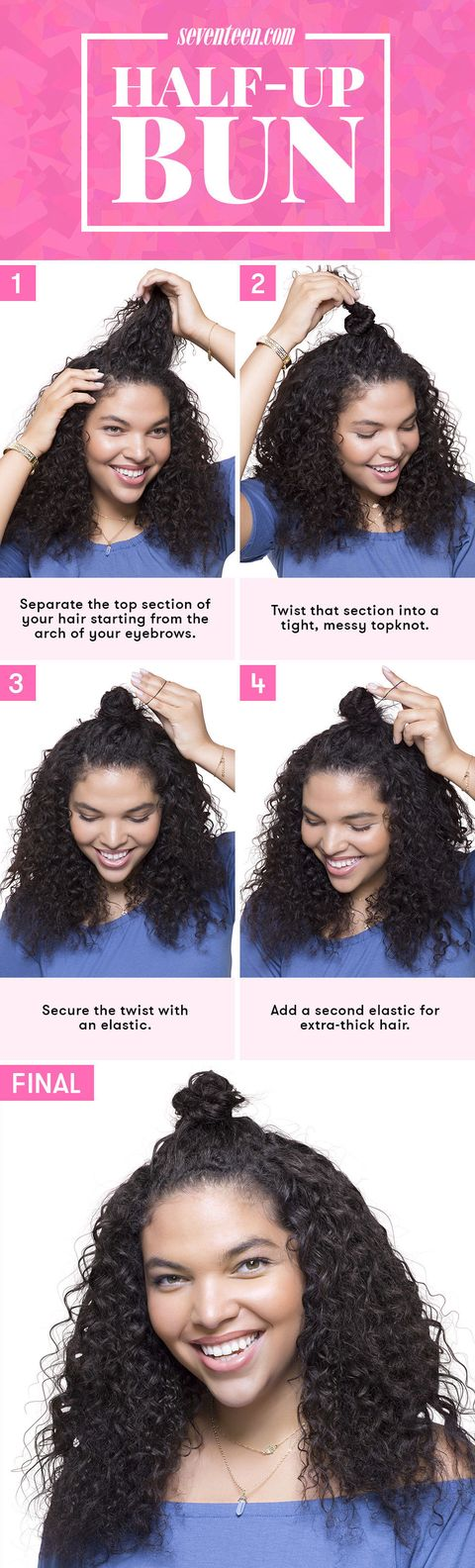 7 No Heat Hairstyles Every Lazy Girl Needs To Try