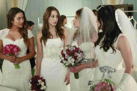 Clothing, Bridal clothing, Petal, Dress, Shoulder, Gown, Wedding dress, Bride, Photograph, Bridal veil,