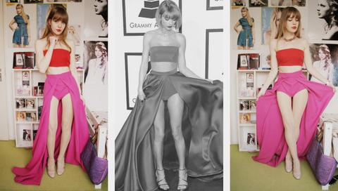 Head, Waist, Pink, Style, Fashion model, Beauty, Fashion, Trunk, Dress, Youth,