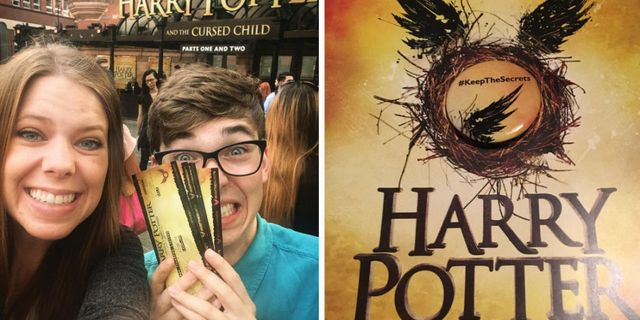 Harry Potter and the Cursed Child' First Previews - Audience