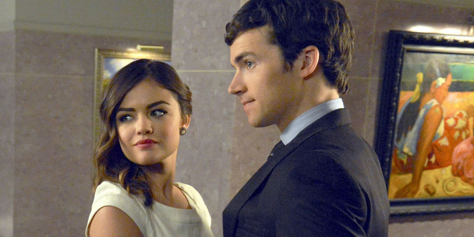 Is Ezra Hookup Aria In Real Life