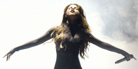 selena gomez, revival tour, bodysuit