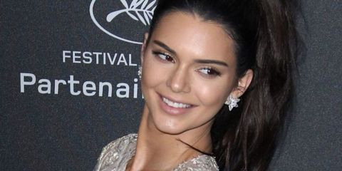 kendall jenner, long hair, pony tail