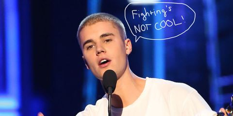 Justin Not Cool
