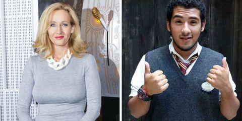 J.K. Rowling, Luis Vielma