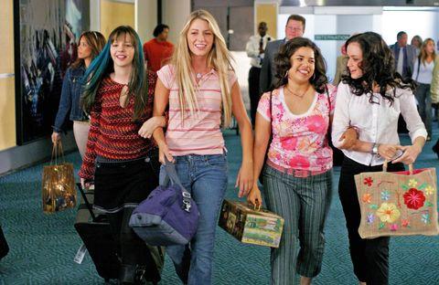 sisterhood of the traveling pants, alexis bledel, america ferrera, blake lively, amber tamblyn