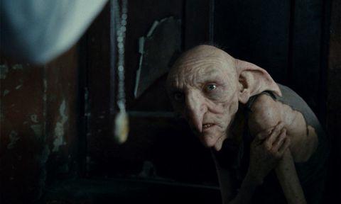 kreacher, house elf, harry potter