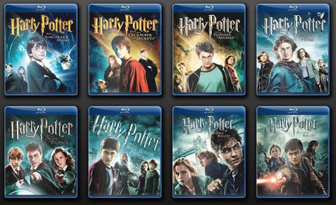 Harry Potter Movie Redesign - New Harry Potter DVD Cases
