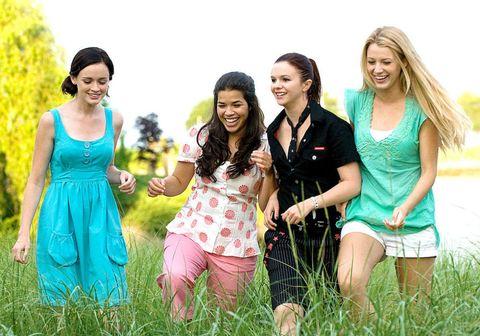 sisterhood of the traveling pants, amber tamblyn, blake lively, america ferrera, alexis bledel