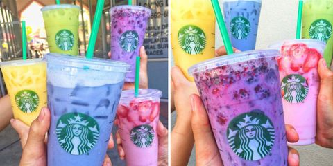 Starbucks Blue Drink Secret Menu Drink