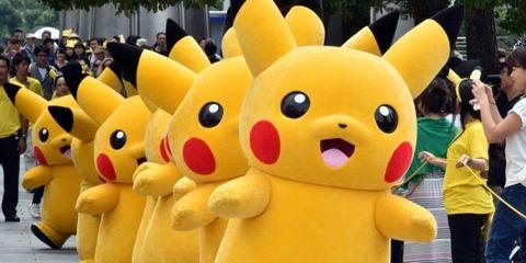 Yellow, Organism, Toy, Baby toys, Plush, Snout, Photography, Snapshot, Stuffed toy, Pokémon,