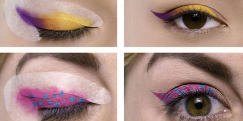 Green, Blue, Brown, Yellow, Skin, Violet, Eyelash, Purple, Eyebrow, Colorfulness,
