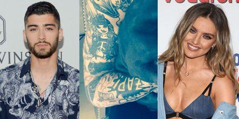 Zayn Malik Covers Perrie Edwards Tattoo Zayn Malik Tattoos