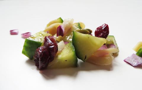 Food, Dish, Cuisine, Fruit salad, Ingredient, Salad, Produce, Vegetable, Recipe, Plant,