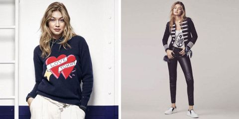 e58bbf36 Gigi Hadid's Tommy Hilfiger Collection is Actually Really Cool