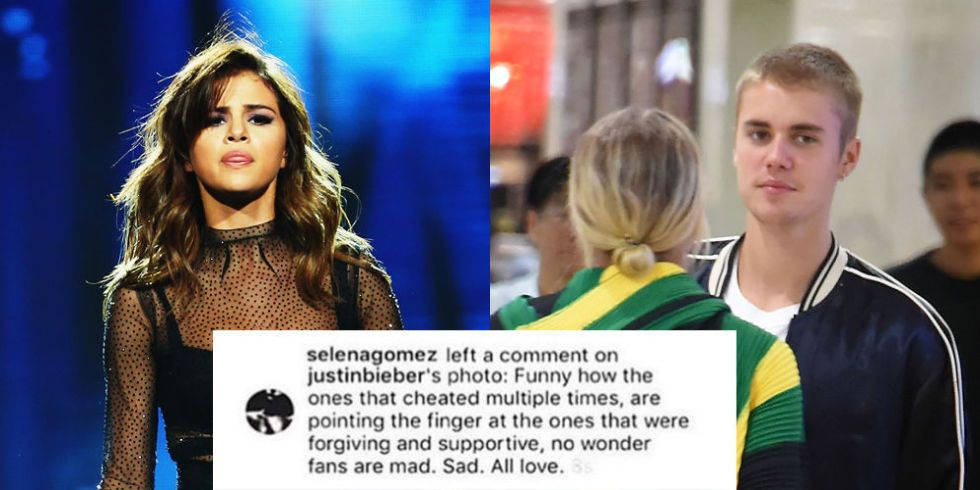 Selena Gomez Allegedly Accuses Justin Bieber Of Cheating