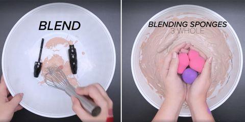 Finger, Nail, Pink, Magenta, Thumb, Violet, Dishware, Kitchen utensil, Plate, Circle,