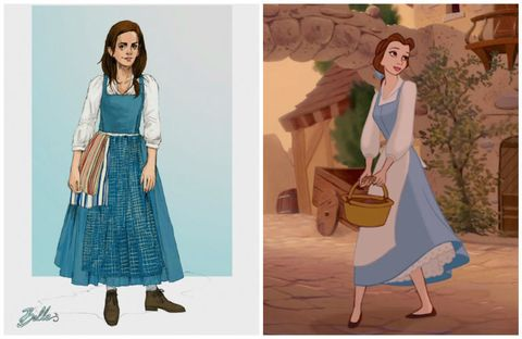 7c8e031a6c7 Emma Watson Belle Costume - Beauty and the Beast Live Action Movie