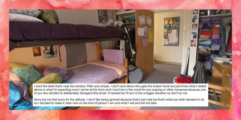 Room, Property, Interior design, Bed, Textile, Bedding, Linens, Floor, Bedroom, Purple,