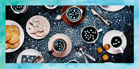 Colorfulness, Circle, Kitchen utensil, Space, Design, Sphere, Graphic design, Cookware and bakeware,